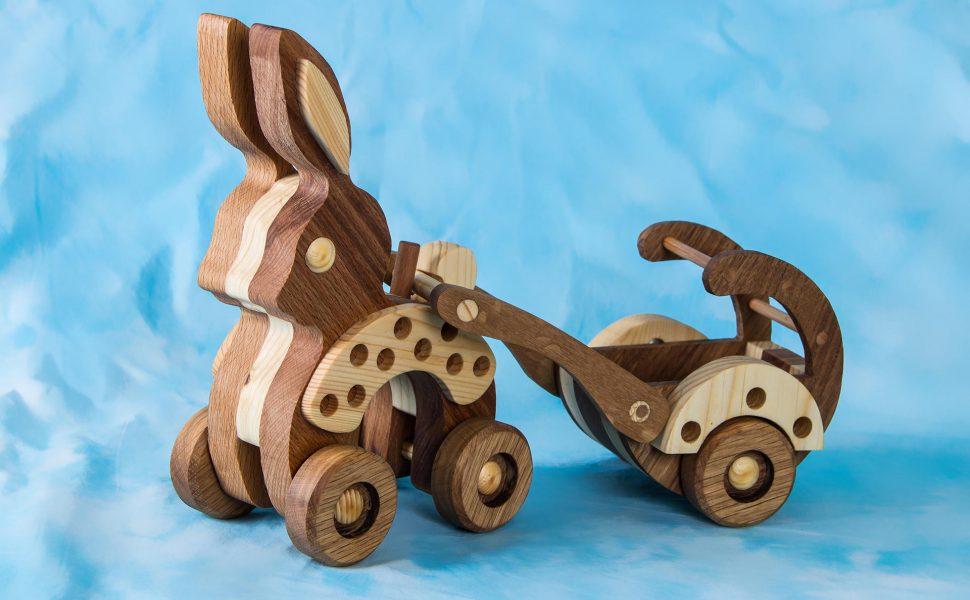 Игрушки из дерева для детей